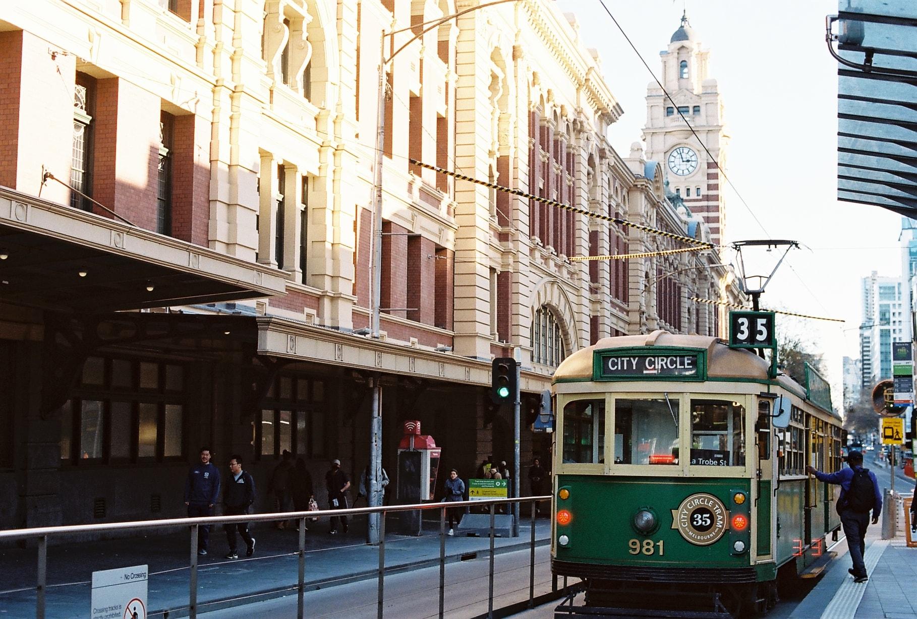 Tram - Phương tiện công cộng được yêu thích ở Úc